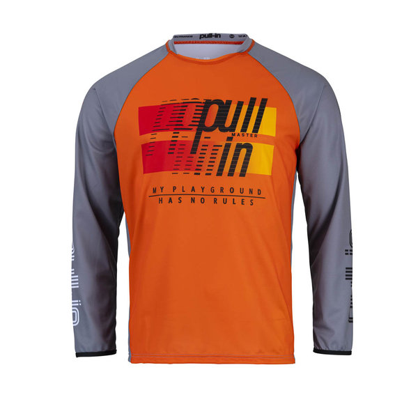 Pull-In Challenger Master / Race Jersey For Kid Master Grey 2022