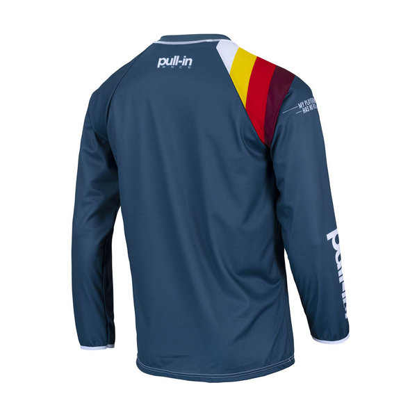 Pull-In Challenger Master / Race Jersey For Kid Race Petrol 2022