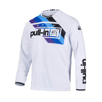 Pull-In Challenger Race Jersey For Adult White 2022