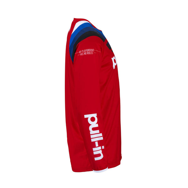 Pull-In Challenger Race Jersey For Adult Red 2022
