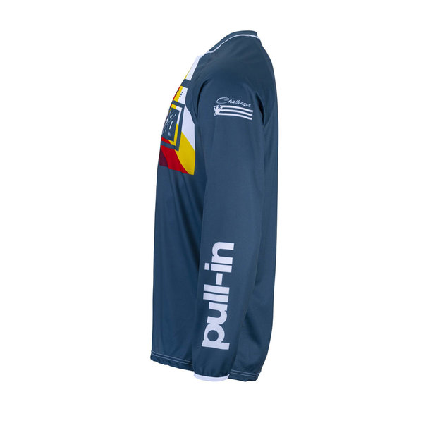 Pull-In Challenger Race Jersey For Adult Petrol 2022
