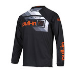 Pull-In Challenger Race Jersey For Adult Orange 2022