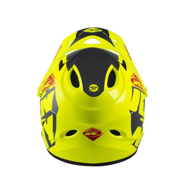 Down Hill Helmet Graphic Neon Yellow 2022