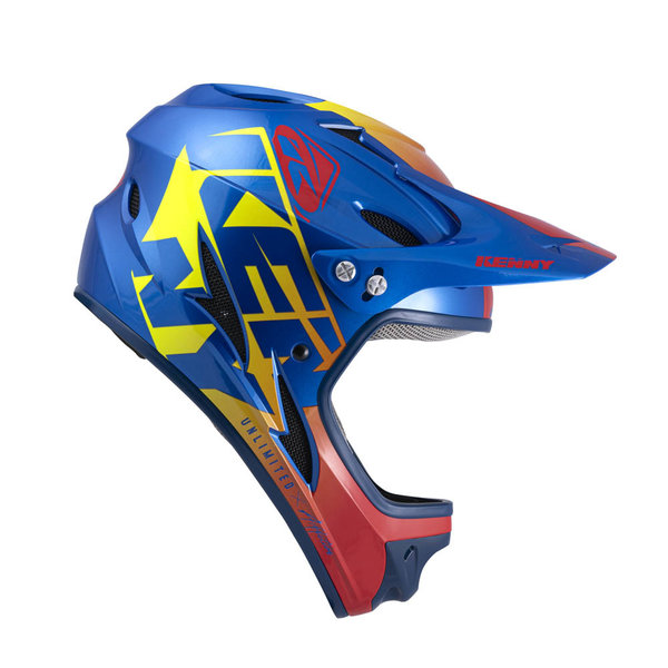 Down Hill Helmet Graphic Candy Blue 2022