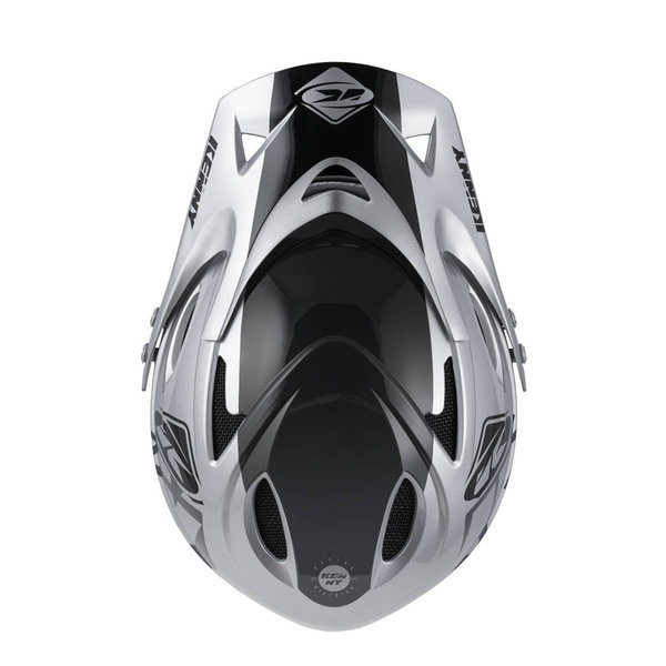 Down Hill Helmet Graphic Silver 2022