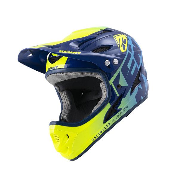 Down Hill Helmet Graphic Navy 2022