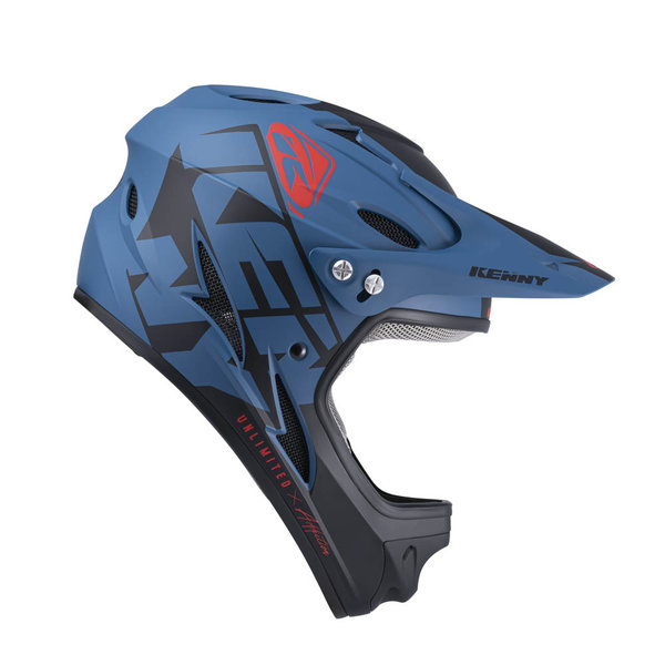 Down Hill Helmet Graphic Dark Blue 2022