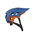 Scrambler Helmet Blue Orange 2022