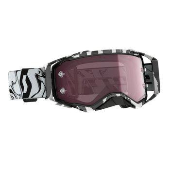 Goggle Prospect Amplifier Marble Black/White Rose Chrome Works