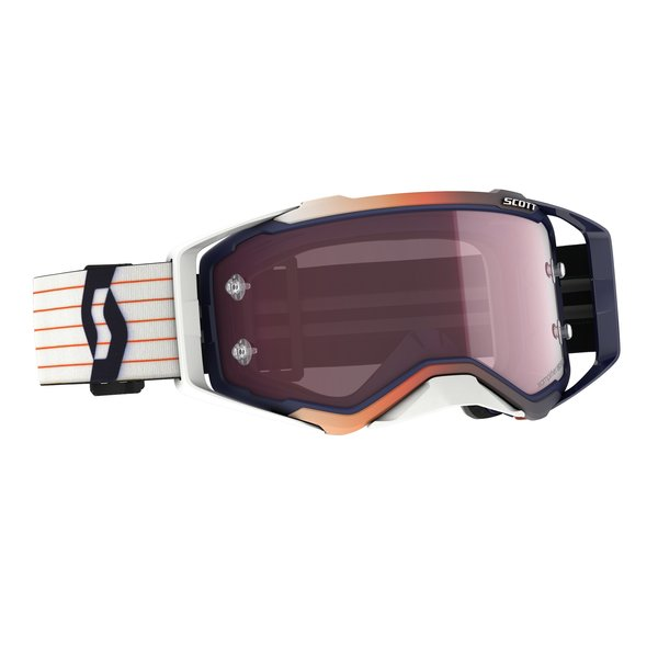 Goggle Prospect Amplifier Blue/White Rose Works