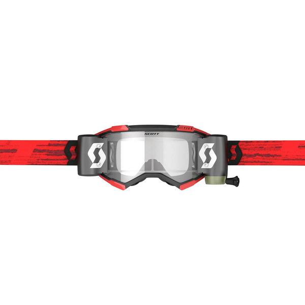 Goggle Fury Wfs Dark Red Clear Works