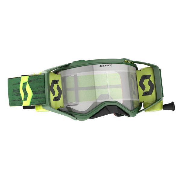 Goggle Prospect Wfs Green/Yellow Clear Works