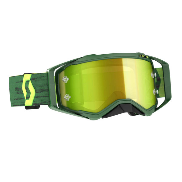 Goggle Prospect Green/Yellow Yellow Chrome Works