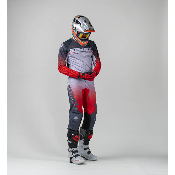 Track Focus Jersey For Adult Grey Red 2022