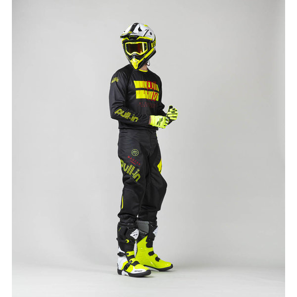 Pull-In Challenger Master / Race Pants For Kid Master Neon Yellow 2022