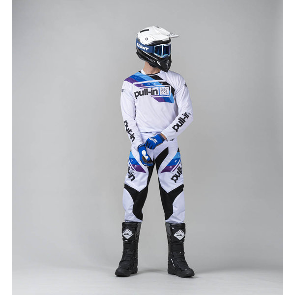 Pull-In Challenger Race Pants For Adult White 2022
