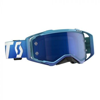 Goggle Prospect Blue/White Blue Chrome Works