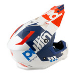 Pull-In Helmet For Adult White Red 2021