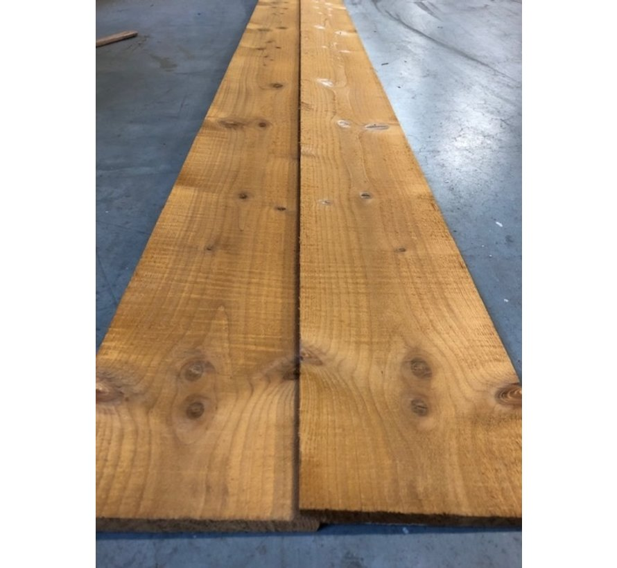 Thermo hout zweeds rabat 11/18x142mm