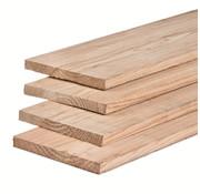 Douglas plank fijnbezaagd 22x200mm 4000mm