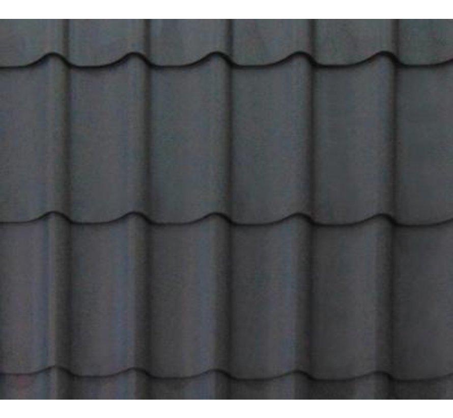 Dakpanplaten metaal zwart