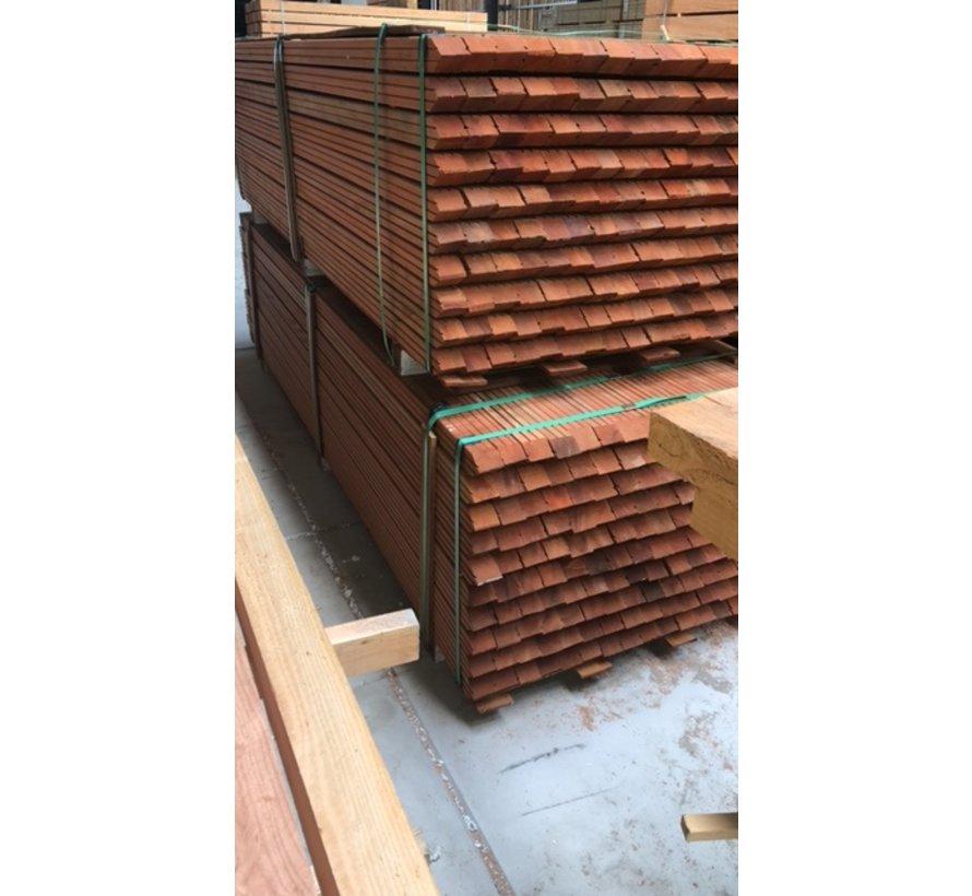 Hardhouten geschaafde palen 65x65x2750mm