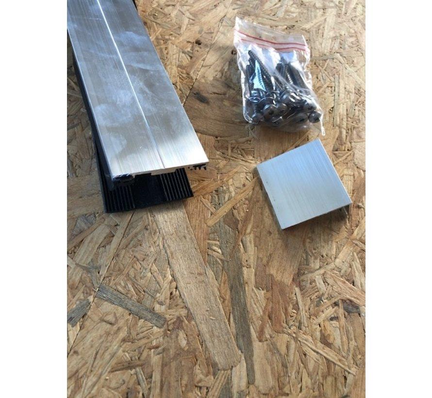 Aluminium tussenprofiel