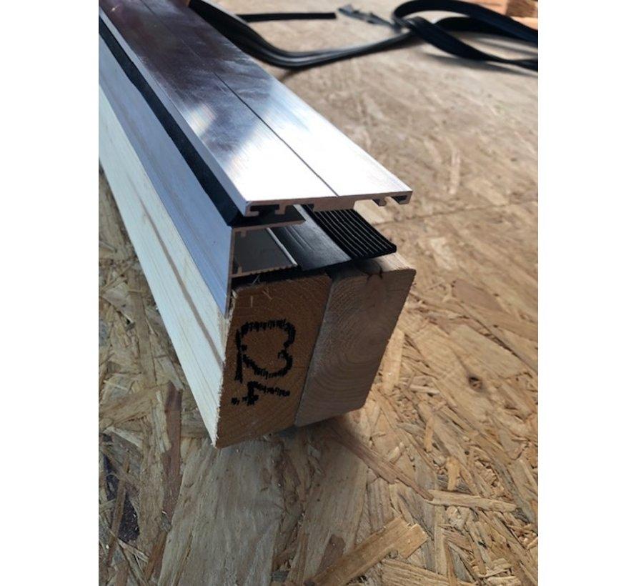 Aluminium zijprofiel