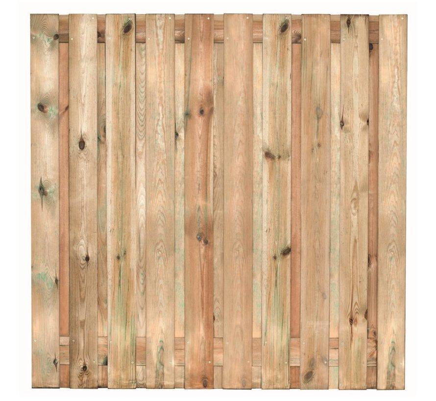 19-planks grenen scherm