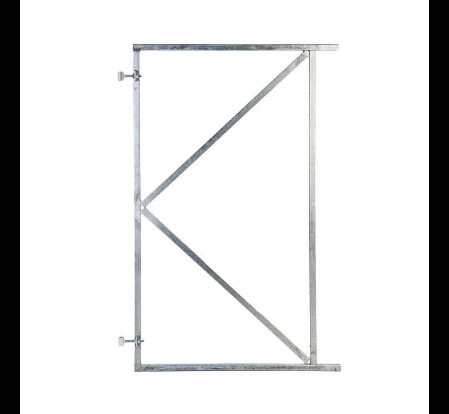 Poortframe met 2 verstelbare ophangpunten verzinkt