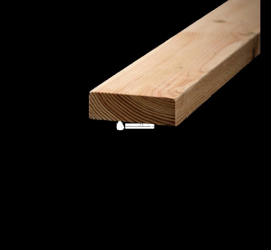 Douglas balk 50x150mm fijnbezaagd