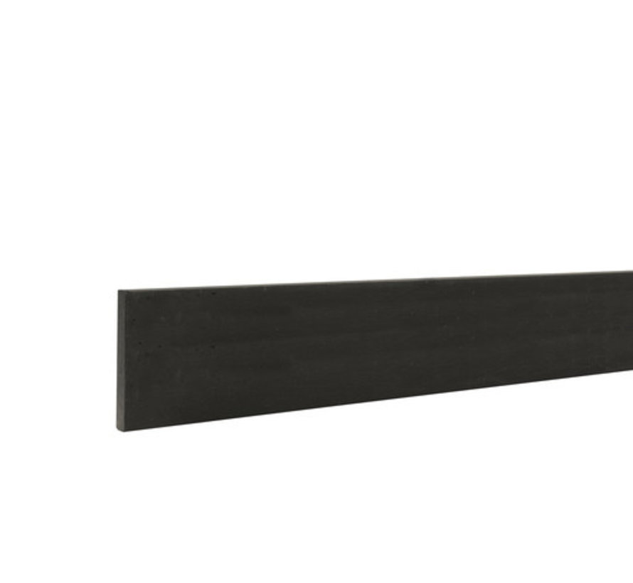 Betonplaat glad antraciet 24x3,5x184cm