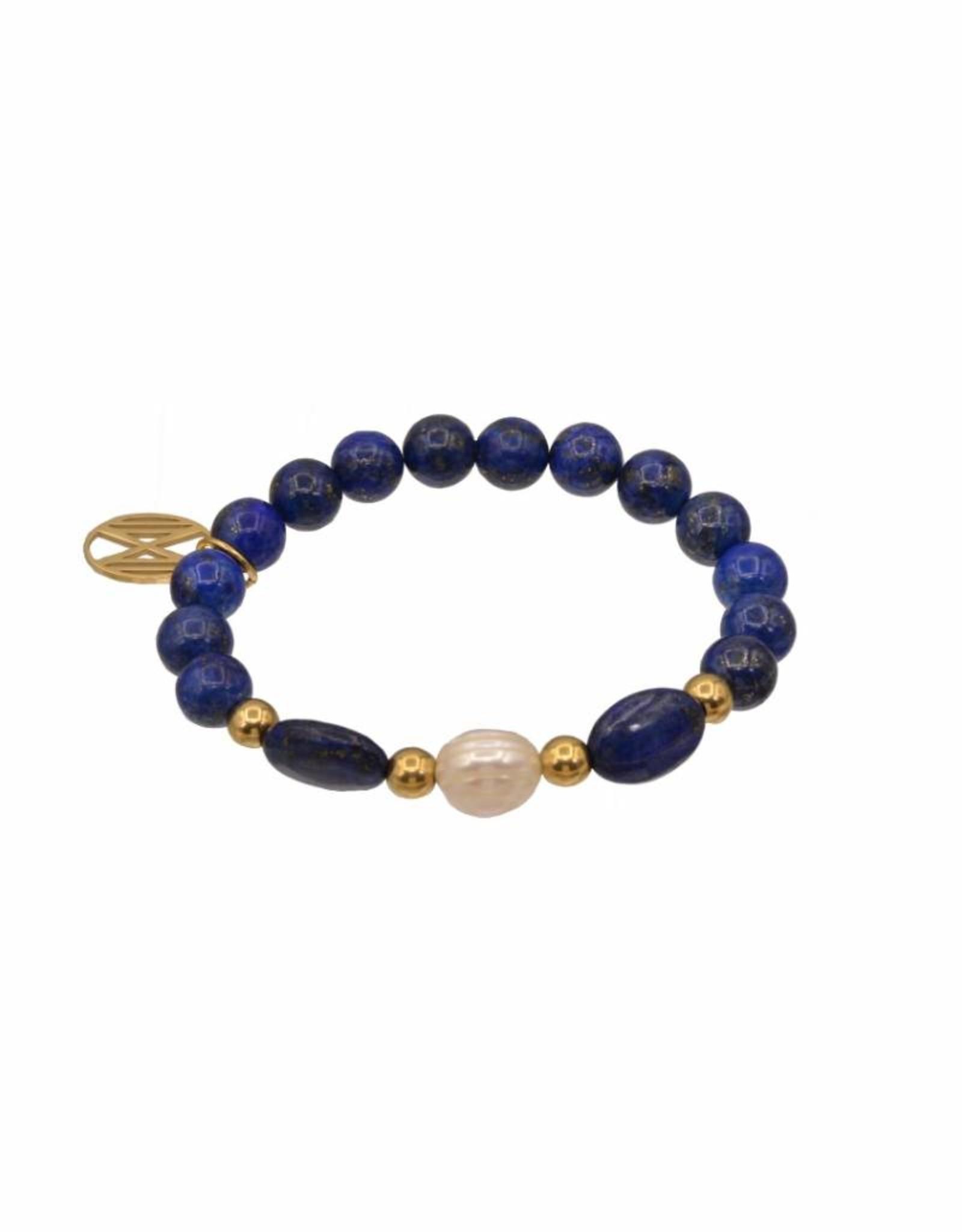 Lapis Lazuli en zoetwaterparel