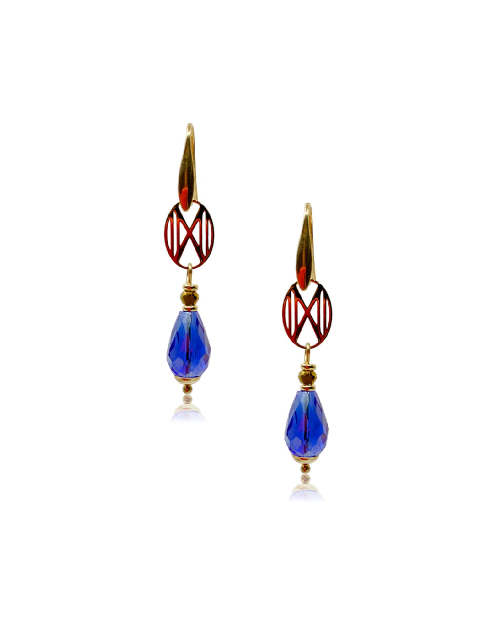 Dos por Dos Sparkling Hero - logo drops - azuurblauw