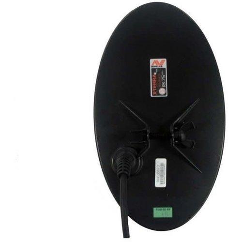 """Minelab Zoekschijf 24x14cm / 10x5"""" DD elliptisch voor de X-Terra (18,75 kHz)"""