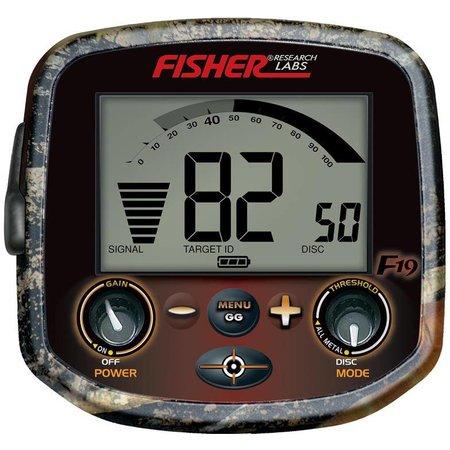 Fisher Fisher F19 LTD Camo Green met 25×12,5 cm DD elliptische zoekschijf