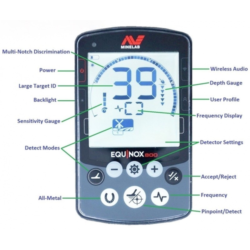 Minelab Minelab Equinox 800 metalldetektor