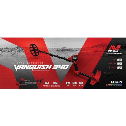 Minelab Minelab VANQUISH 340 Metaaldetector