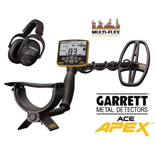 Garrett Garrett Ace Apex metaaldetector + WHP Z-LINK