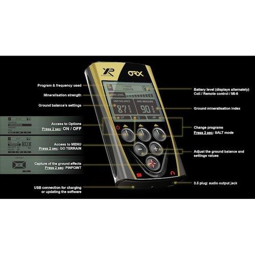 XP XP ORX Back-lit LCD Display Remote Control