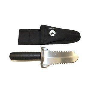BlackAda Spartan knife / grasmes RVS