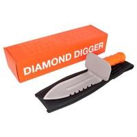 Quest Diamond Digger RVS grasmes