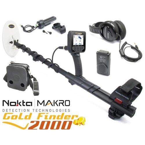 Nokta Makro Nokta|Makro Goldfinder 2000 metaaldetector