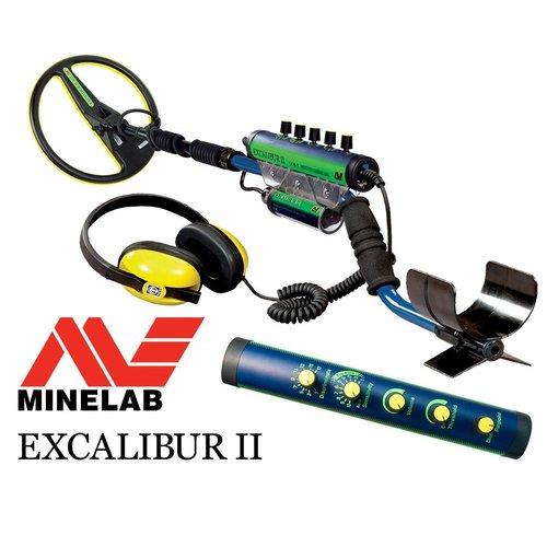 """Minelab Minelab Excalibur II met 25cm / 10"""" schijf"""