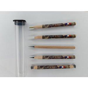 Le Crayon à André Schoonmaak Potloden + Glasvezel Potlood