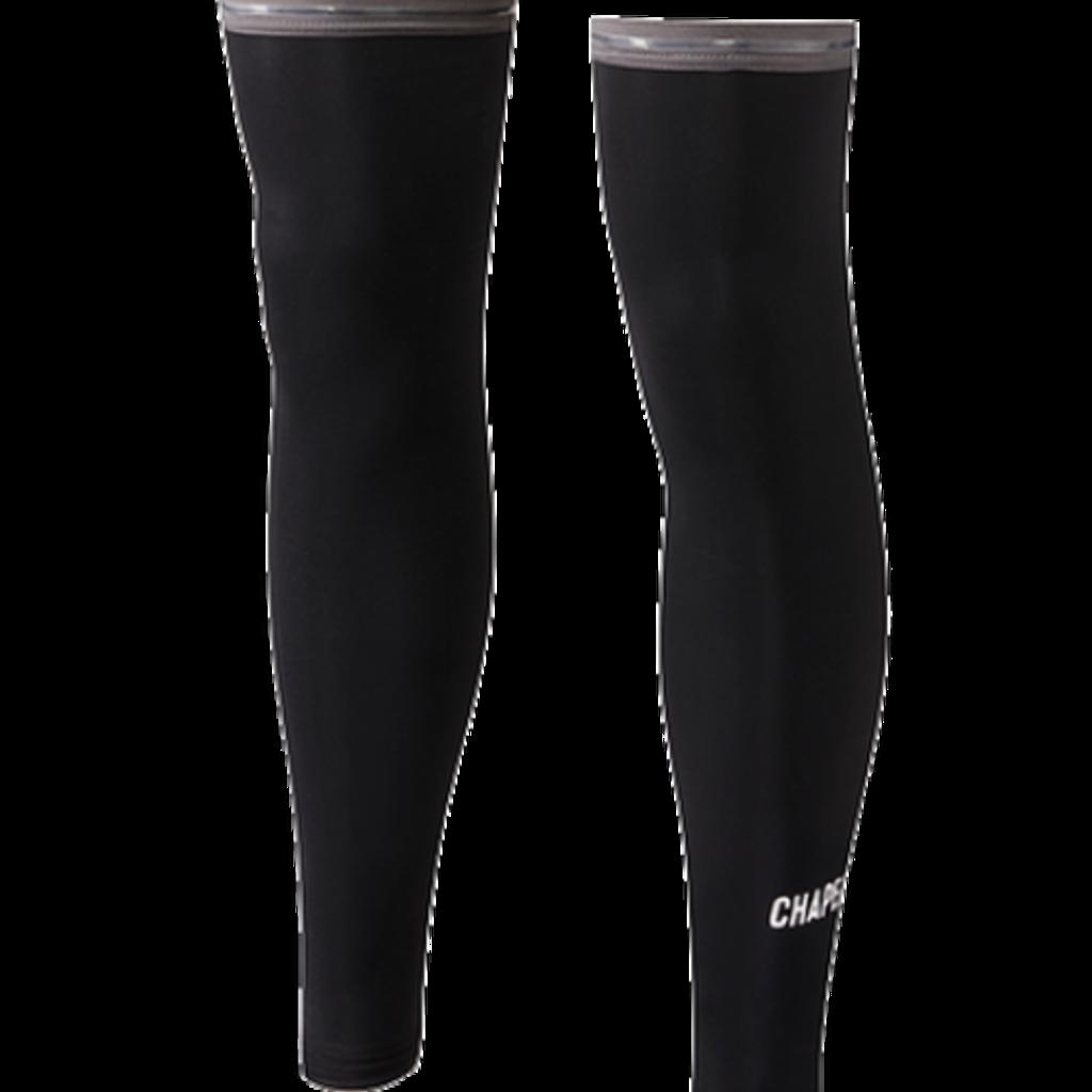 Chapeau!, Mens Leg Warmers, Wordmark, Black, L/XL