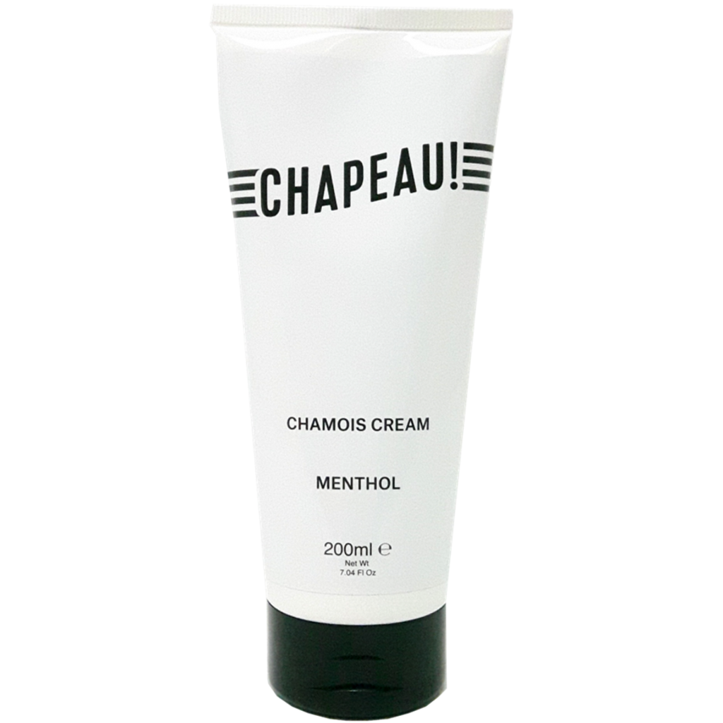 Chapeau!, Menthol Chamois Cream, Tube, 200ml