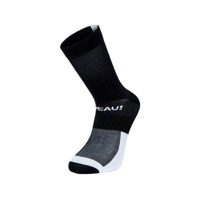 Chapeau!, Lightweight Performance Socks, The Marque, Tall, Black/White, 40-43