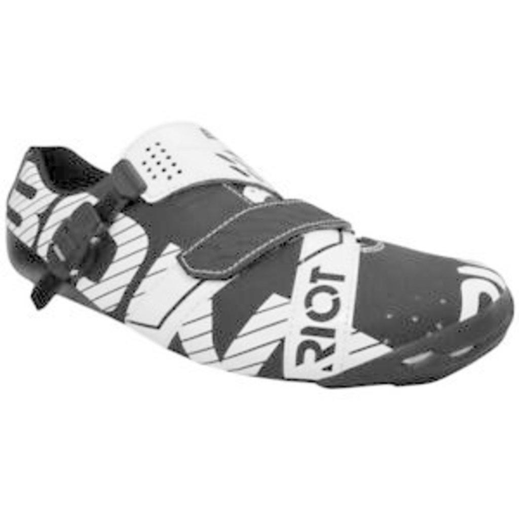 Bont Riot Black/White Size 47