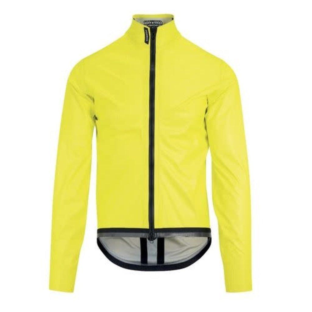 assos Assos Equipe RS Schlosshund Rain Jacket EVO Flue Yellow L